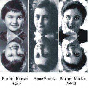 Anne Frank | Barbro Karlen Past Life Case