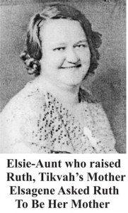 Portrait of Aunt Elsie Elsagene Tikvah Reincarantion Evidence