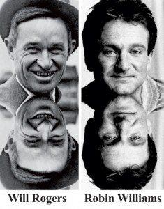 5 Robin Williams Will Rogers Reincarnation & Sary mamono tena