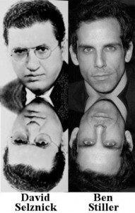 Ben Stiller kiel Reenkarniĝo de David O. Selznick, IISIS Walter Semkiw, MD