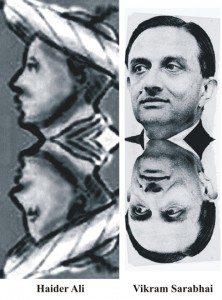 vikram sarabhai as reincarnation of haider ali