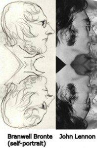 Kaŭzo de Reencarnación de Branwell Bronte John Lennon
