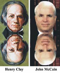 Tantaram-pinoana Reincarnation John McCain Henry Clay Zavamaniry Zavakanto Fiainana taloha